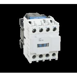 Contacteur tripolaire 4KW 9A - commande bobine 400VAC - 1NO - LT1-D0910