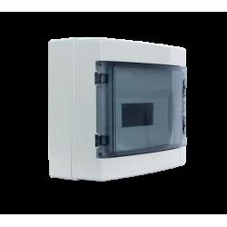 Coffret électrique de distribution modulaire en plastique IP65, 4 à 24 modules