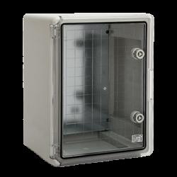 Armoire électrique en plastique ABS, IP65, porte transparente