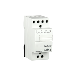 Transformateur 8V, 12V, 24V, bobine 230V, 3.8VA, Rail DIN