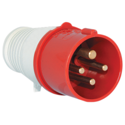 Prise industrielle 3P+T, IP44, 400V AC, type HYPRA