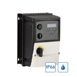 Variateur mono/tri 220V IP66 extérieur de 0,37kW à 4,0kW - Prêt à l'emploi