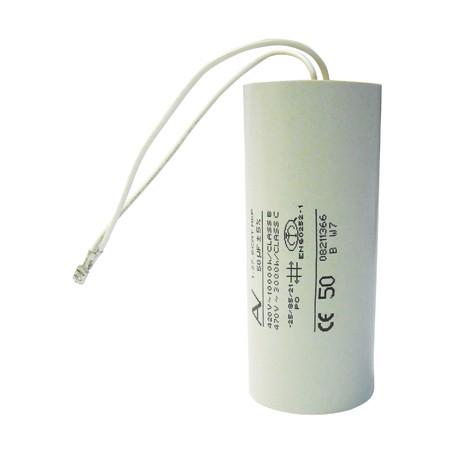 Condensateurs pour pompe à eau