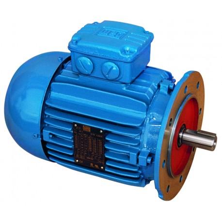 Moteur B5, 1.1 KW, 1000 tr/min, 220-240/380-415//460V, HA 90