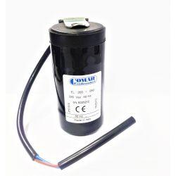 Condensateur démarrage 200-250µF 320V avec câble