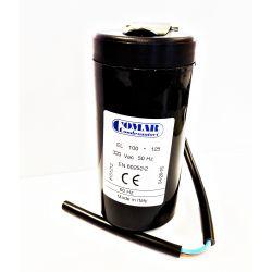 Condensateur démarrage 100-125µF 320V avec câble