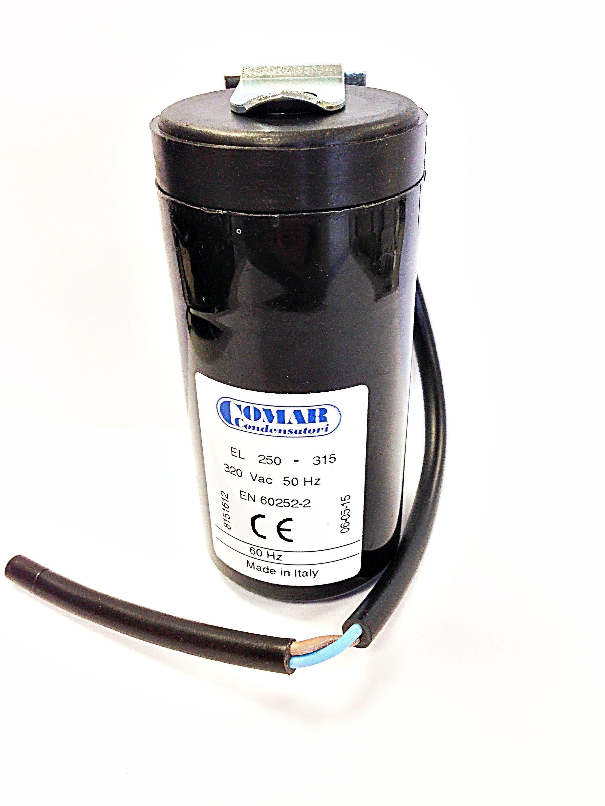 Condensateur de demarrage du moteur 200 uF 320V avec c/âble