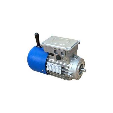 Moteur monophasé avec frein 0,37 KW, 3000 TR/MIN, HA 71, 230V, B3, ALU