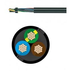 Câble électrique souple H07RN-F 3G4 MM² au mètre