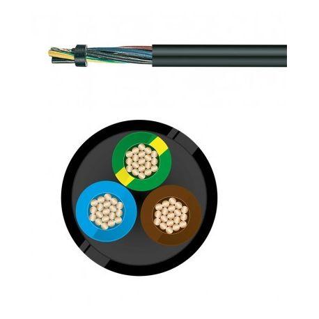 Câble électrique souple H07RN-F 3G6MM²