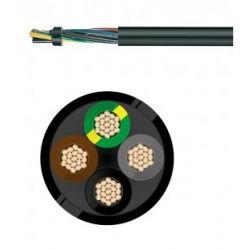 Câble électrique souple H07RN-F 4G2.5 MM² au mètre