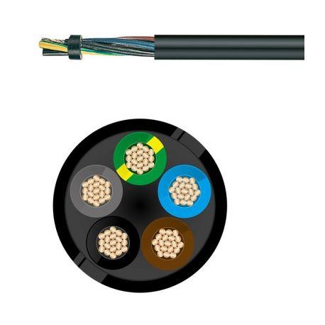 Câble électrique souple H05RR-F 5G1.5MM²