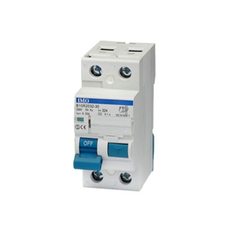 Interrupteur différentiel bipolaire L+N 25A, 30mA IMO