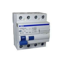 Interrupteur différentiel tétrapolaire 3Ph+N 63A, 30mA IMO