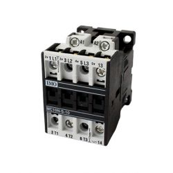 Contacteur tripolaire 10A - commande bobine 24VAC - MC10 IMO