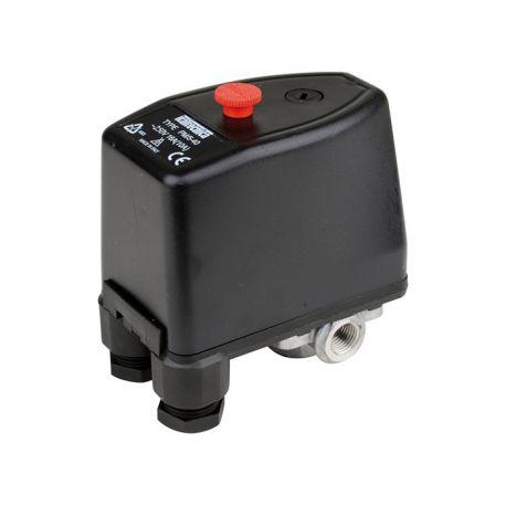 Pressostat eau 230V et 380V - 1 à 5 bars
