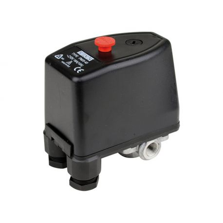 Pressostat eau 230V et 380V - 3 à 12 bars