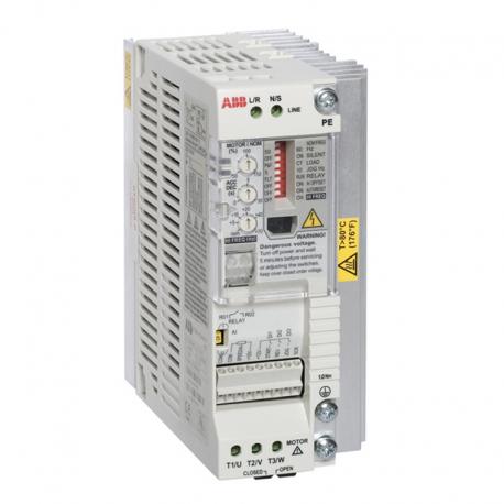 Variateur mono/tri 220V ACS55 jusqu'à 2,2KW - ABB