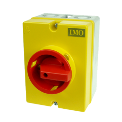 coffret sectionneur rotatif 4P 40A Cadenassable - IMO