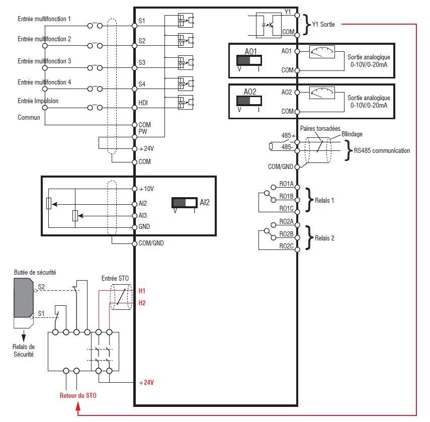variateur mono-tri 220v sd1 jusqu u0026 39  u00e0 2 2kw