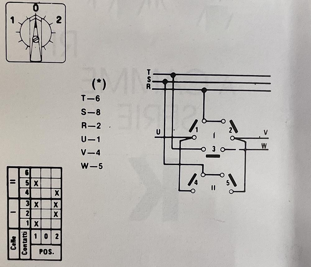 Schéma Interrupteur tripolaire ck03