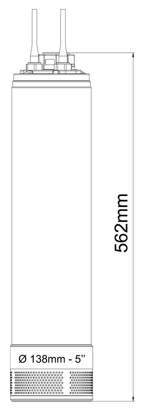 dimensions pompe drop8-5S