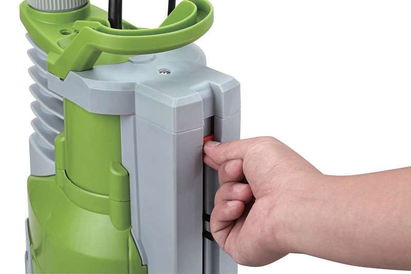 Mode manuel pompe i-spring 130